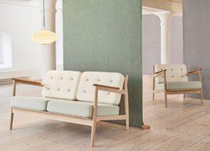 Magnus_Olesen MODEL 107 2 zits bank en fauteuil