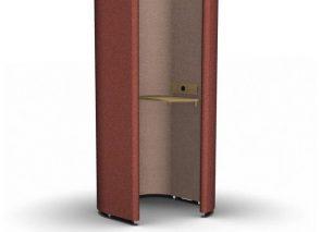 Rondo Longo Akoestische telefooncel, belcel voor op kantoor