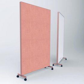 deBlick makkelijk te verplaatsen space dividers om snel een afgeschermde ruimte te creeren