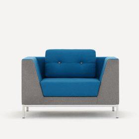 Allemuir Octo fauteuil in twee kleuren