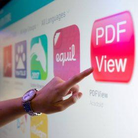 Cleavertouch touchscreen voor betere interactie met collega's tijdens vergaderingen