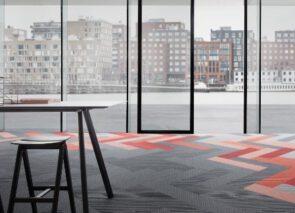 Desso Traverse tapijttegels voor kantoor
