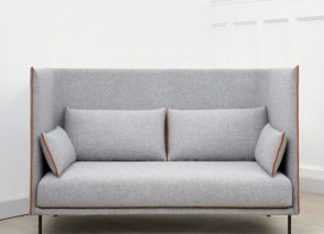 HAY silhouette sofa high backed