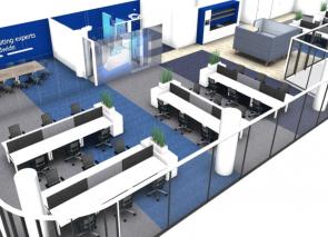 Ontwerp voor kantoor met BREEAM kwaliteitseisen