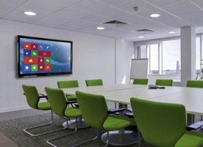 Clevertouch interactief scherm voor gebruik in vergaderkamers