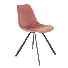 Dutchbone Franky velvet chair