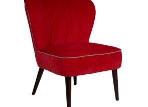 Dutchbone Smoker lounge chair met een vintage uitstraling