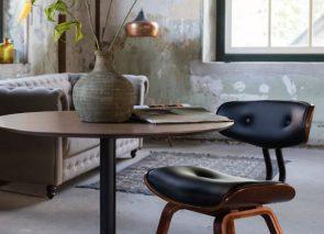 Dutchbone blackwood chair en Velvet chester sofa