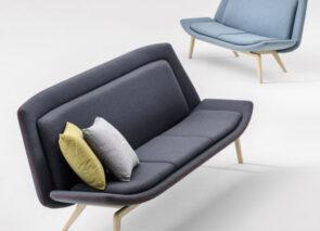 Milani Nordic Loungechair en sofa