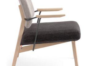 Mobitec fauteuil LINDSAY met armleuningen