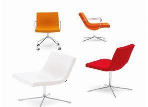 Offecct Bond serie armstoelen en relax fauteuils