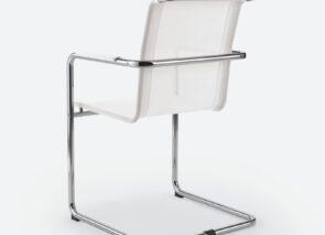 SEM by Milani Spin Slede stoel met netwave bekleding