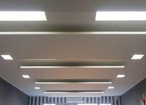 Akoestiek verbeteren dmv akoestische plafondpanelen