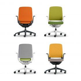 Deze nieuwe innovatieve bureaustoel is in vele kleurstellingen leverbaar
