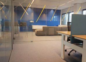 Verbouwing van kantoor in Rotterdam is in volle gang