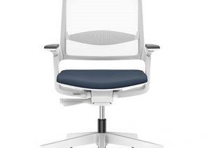 IS bureaustoel in lichte uitvoering. Door de lichte netweave rug heeft deze stoel een ranke uitstraling