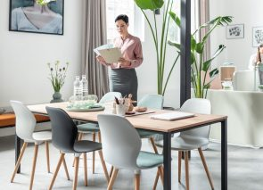 Sedus sfeer vergadertafel met SE-spot stoelen