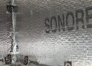 Sonorex drukschotten tegen geluidsoverlast geplaatst bij Crossphase