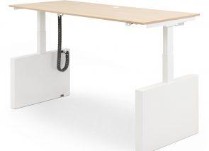VMHi zit sta bureau met dichte zijkant