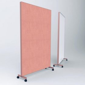 Makkelijk te verplaatsen space dividers om snel een afgeschermde ruimte te creeren