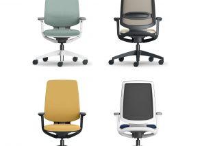 kantoorstoel se-flex is een bureaustoel die door de vele mogelijkheden in alle kantoorstijlen toe te passen is