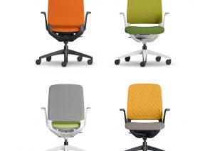 Sedus se.motion bureaustoel biedt veel bewegingsvrijheid tijdens het zitten