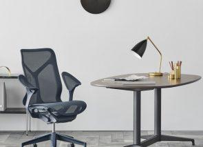 Bureaustoel zeer geschikt voor gebruik in een directiekantoor