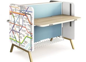 Zit sta bureau is helemaal te personaliseren naar eigen stijl