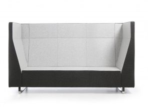 Bejot VOO akoestische zitbank met hoge zijkant en rug