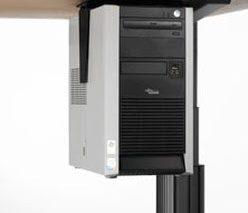 CPU houder voor ophanging van je computer onder je bureau