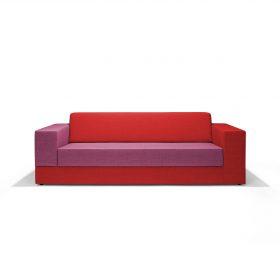 Bank Colors gebaseerd op twee uitgerekte L-vormen die