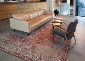 Donkersloot karpet in vintage stijl