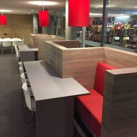 Interieurbouw voor de Universiteit van Tilburg