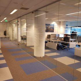Ontwerp, kantoorverbouwing en kantoorverbouwing bij Panalpina Rotterdam