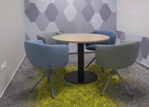 Met een goed tapijtplan geef je een eigen sfeer aan je kantoor