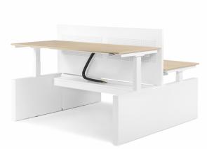 Elektrisch verstelbaar zit sta bureau