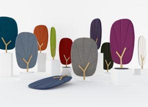 Akoestische design objecten in vele kleuren leverbaar
