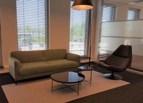 Vehco Artifort Figura bank en Artifort fauteuil