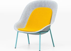 De Vorm Nook PET felt Lounge Chair