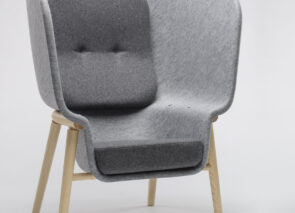 De Vorm Pod PET Felt Privacy Chair