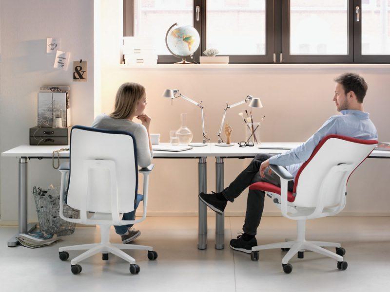 Bewegend zitten achter je bureau