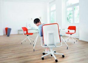 Wilkhahn AT bureaustoel voor bewegend zitten op kantoor