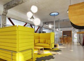 Met de kleur geel geef je je kantoor een boost