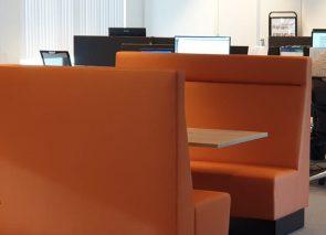 Kantoorinrichting bij PSA in Veenendaal