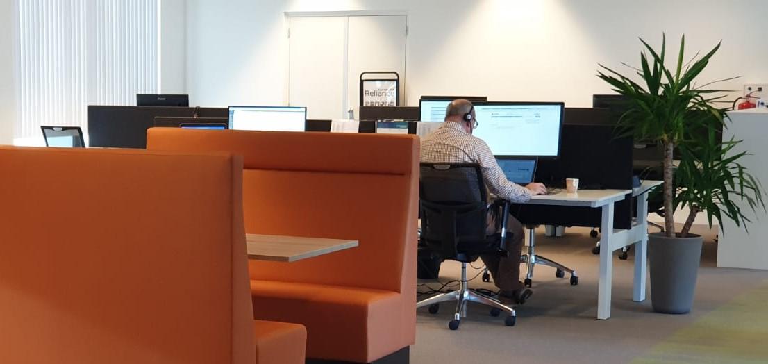 Kantoortuin bij PSA in Veenendaal