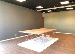 Fase 2 is begonnen, behang van Vescom brengt sfeer in het kantoor