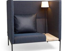 David design Online Hiback concentratie werkplek - fauteuil