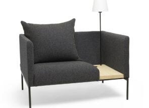 David design Online fauteuil complet met tafeltje en verlichting