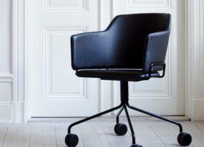 David design Skift Wheels kuipstoeltje - vergaderstoel op wieltjes