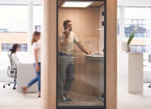 Sedus Belcel voor open kantoortuin met mooie afgeronde details